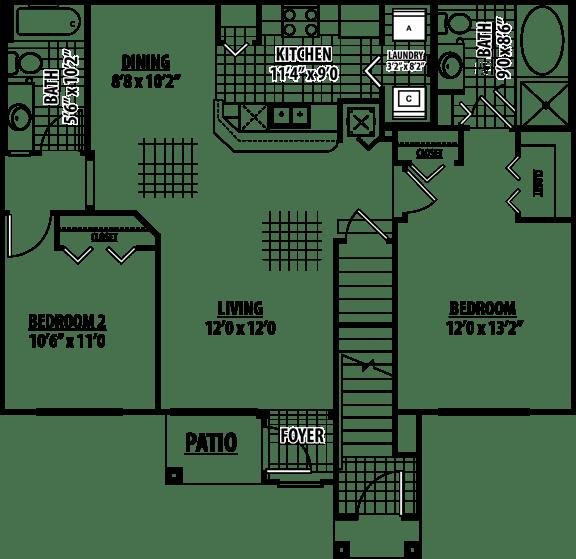 Marion Floor Plan | Estates at Heathbrook