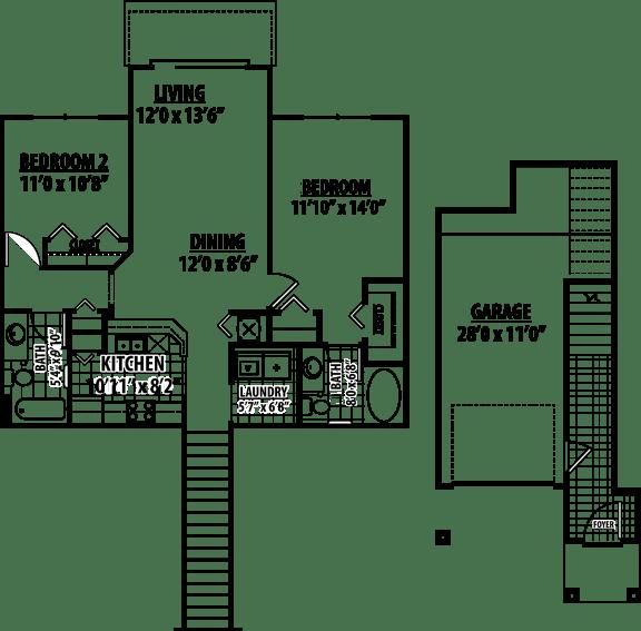 Morgan Floor Plan | Estates at Heathbrook
