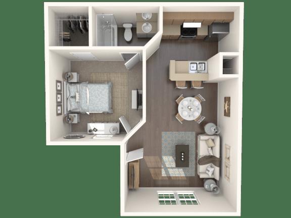 Floor Plan  Garden Isle_ up Floor Plan |Caribbean Isle
