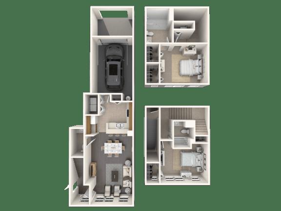 Floor Plan  Gardenia Floor Plan| Floresta
