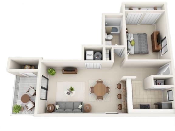 Floor Plan  Caribbean Floor Plan | Jupiter Isle
