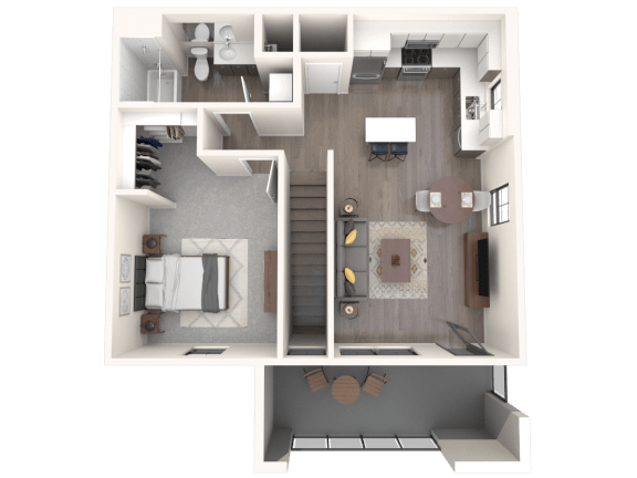 Floor Plan  Manzano   Altitude at Vizcaya