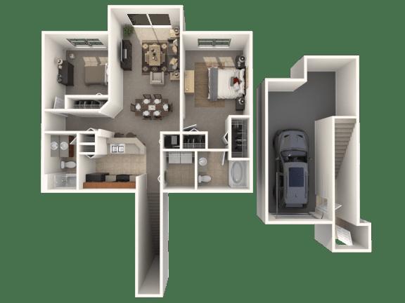 Floor Plan  Morgan Floor Plan |Estates at Heathbrook
