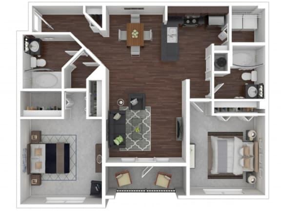 Floor Plan  Laurel Floor Plan | Cypress Legends