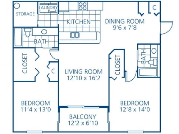 Eugenia Floor Plan |Monterra