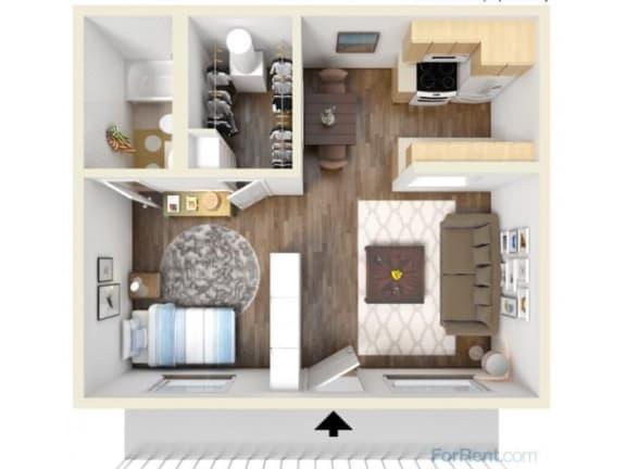 Floor Plan  1A Floor Plan | Promontory