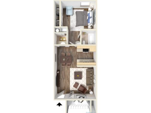 Floor Plan  1C Floor Plan   Promontory