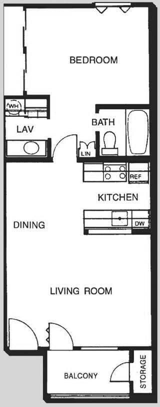 1C Floor Plan   Promontory