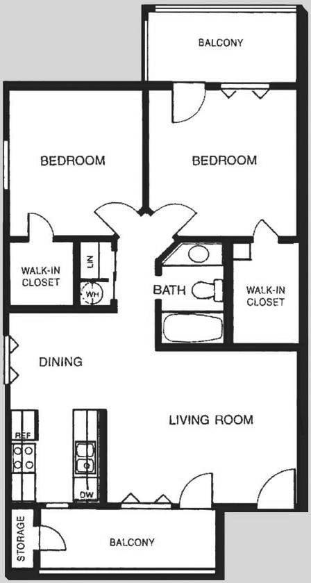 2E Floor Plan | Promontory