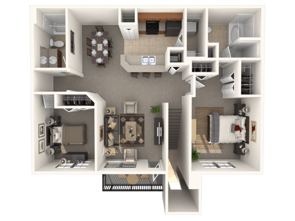 Floor Plan  Radford Floor Plan  Estates at Heathbrook