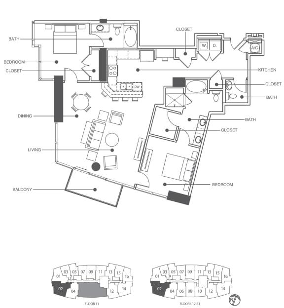 Floor Plan  Residence 2 | Element