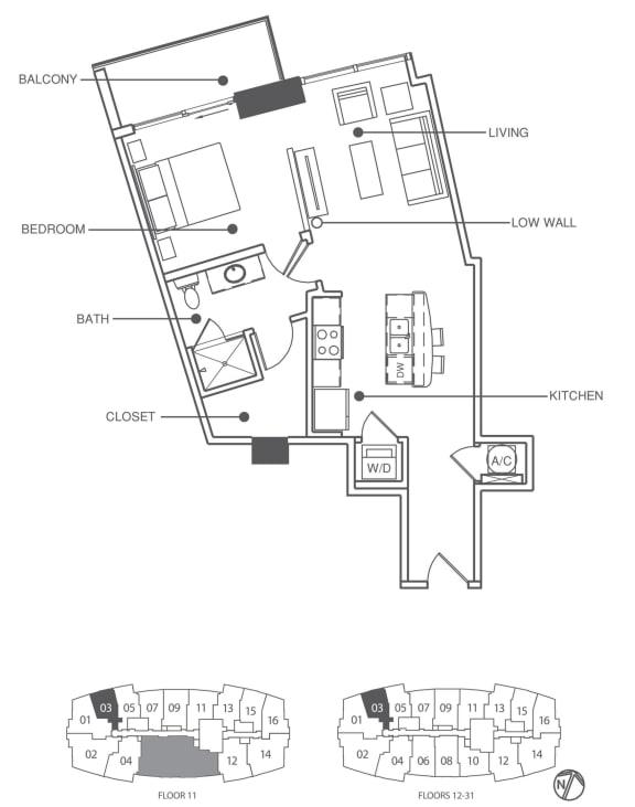 Floor Plan  Residence 3 | Element