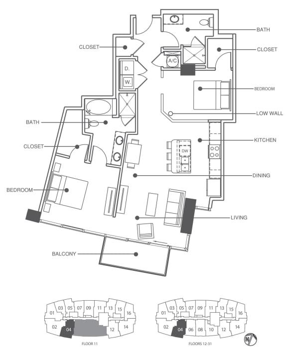 Floor Plan  Residence 4 | Element