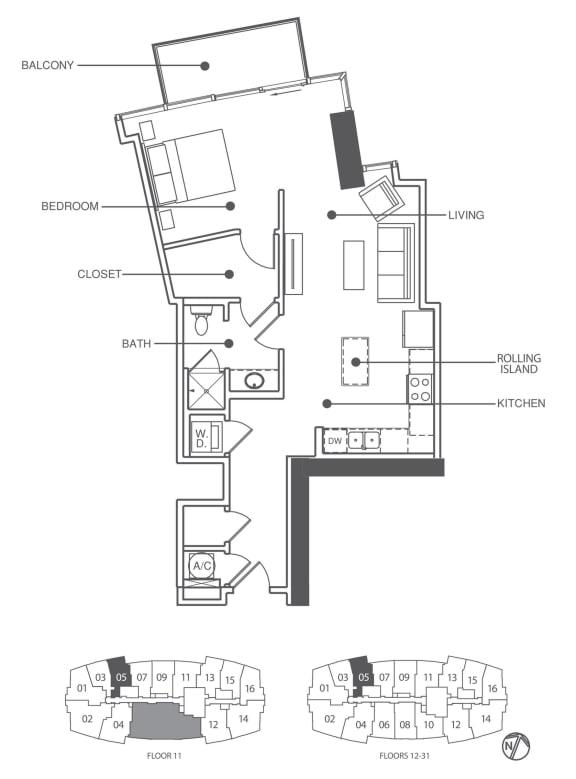 Floor Plan  Residence 5 | Element