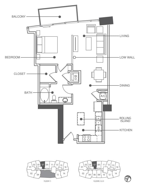 Floor Plan  Residence 7   Element
