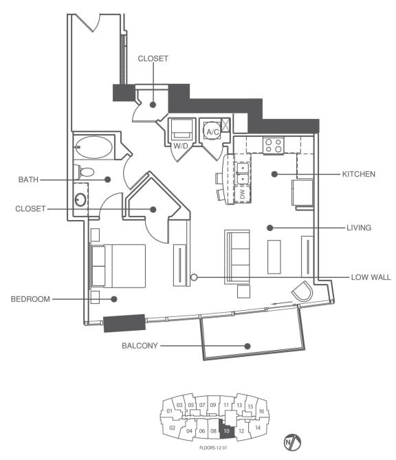 Floor Plan  Residence 10 | Element