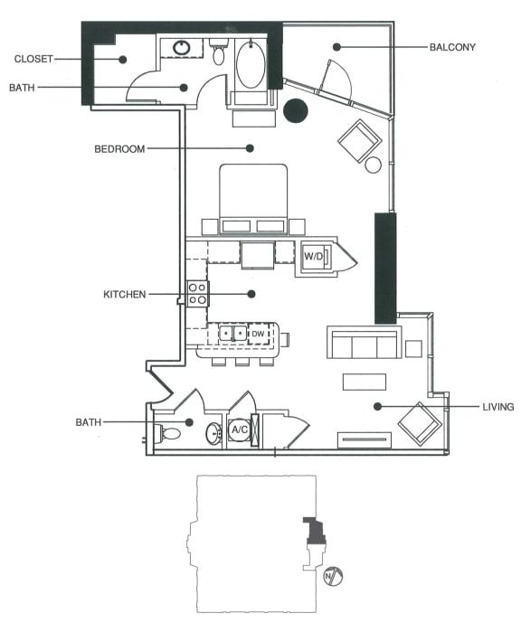 Floor Plan  Flat 1   Element