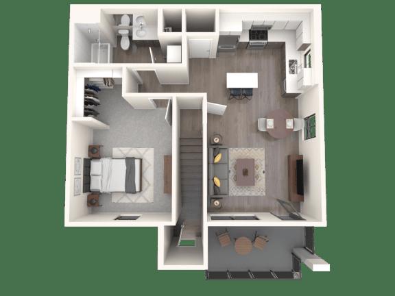 Floor Plan  Sandia | Altitude at Vizcaya