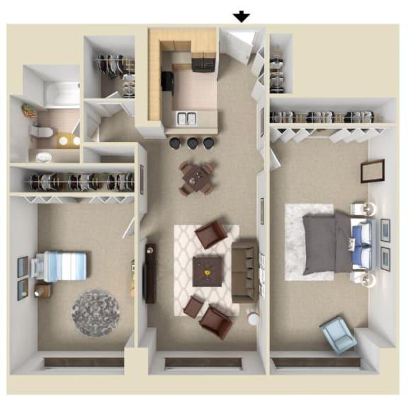 Floor Plan  The Berber | Bigelow Commons