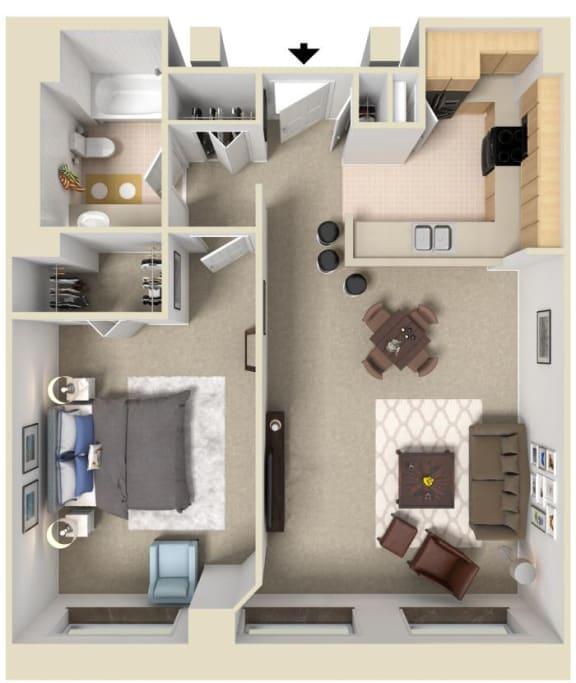 Floor Plan  The Sanford | Bigelow Commons