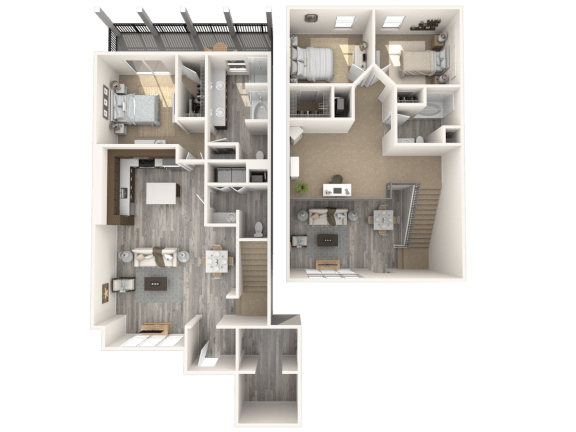 Floor Plan  Villas Platinum Floor Plan | The Paramount