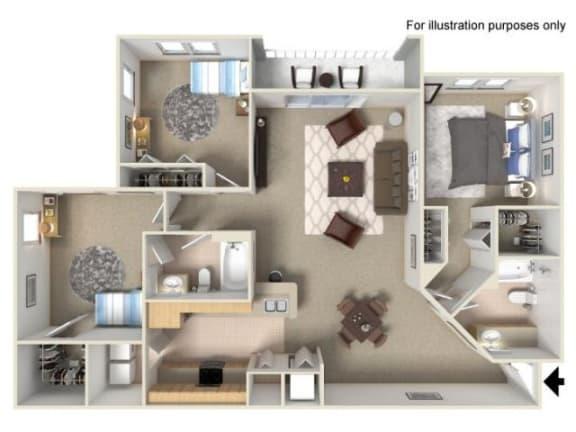 Floor Plan  Bonaire Floor Plan | Yacht Club
