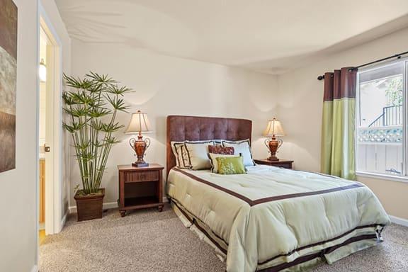 Lavish Bedroom at Clayton Creek Apartments, Concord, CA