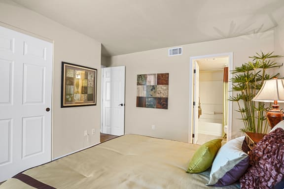 Gorgeous Bedroom at Clayton Creek Apartments, Concord, CA, 94521