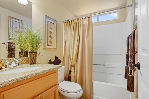 Luxurious Bathroom at Clayton Creek Apartments, Concord