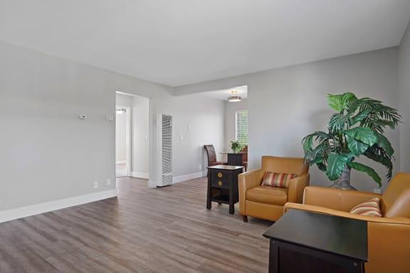 Living Room Interior at Colonial Garden Apartments, San Mateo, 94401