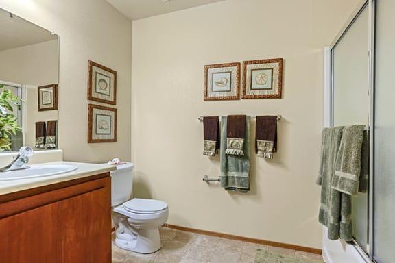 Spa Inspired Bathroom at Cypress Landing, Salinas