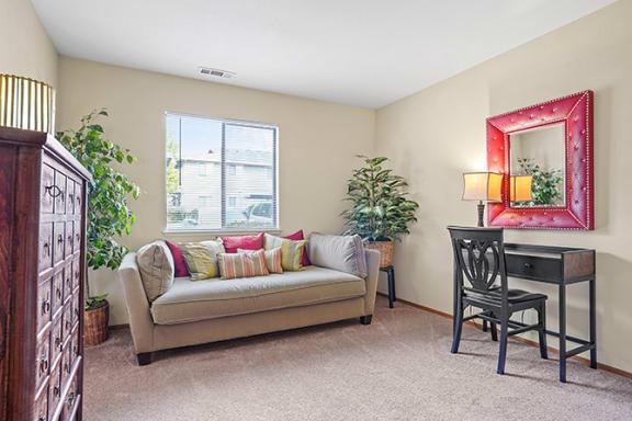 Spacious Living Area at Cypress Landing, Salinas, California