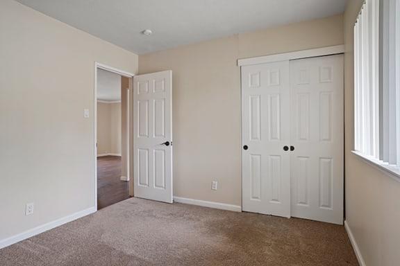 Large Closet View at Fairmont Apartments, Pacifica, California
