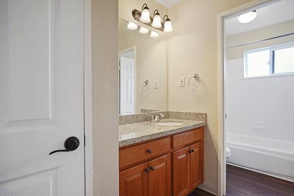 Luxurious Bathroom at Fairmont Apartments, Pacifica, 94044