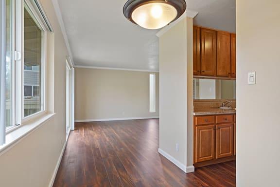 Kitchen Unit at Fairmont Apartments, Pacifica, California