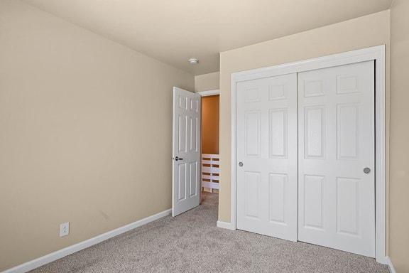Large Closet In Bedroom at Peninsula Pines Apartments, South San Francisco, CA