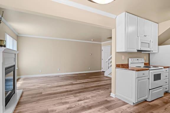 Hardwood Flooring at Peninsula Pines Apartments, South San Francisco, CA, 94080