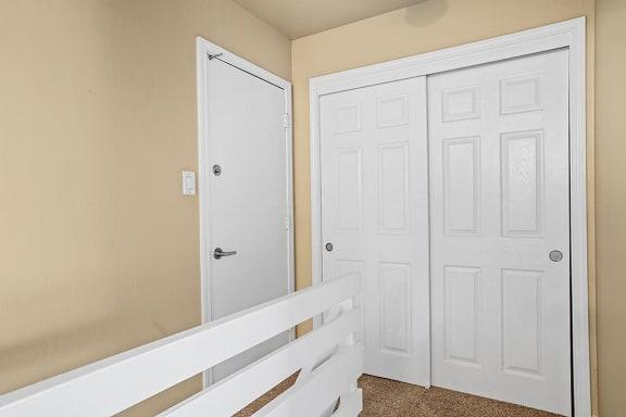 Large Doors at Peninsula Pines Apartments, South San Francisco, California