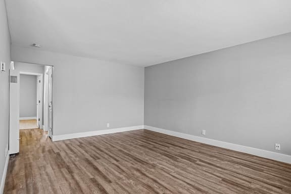 Engineered Wood Flooring at Peninsula Pines Apartments, South San Francisco, California