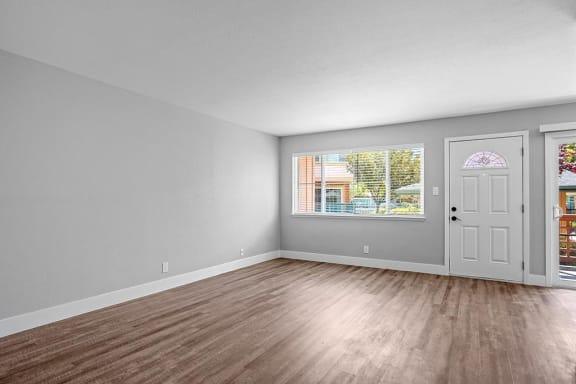 Spacious Living Area at Peninsula Pines Apartments, South San Francisco, CA, 94080