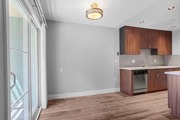 Stylish Kitchen  at Peninsula Pines Apartments, California