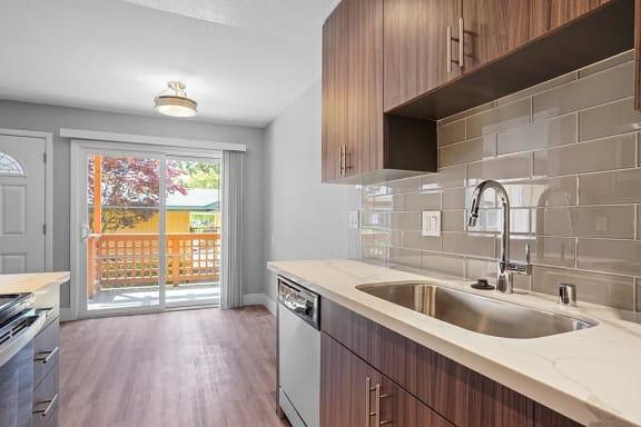 Sink With Faucet at Peninsula Pines Apartments, South San Francisco, 94080