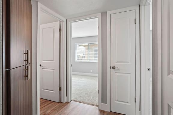 Bathroom View at Parkside Apartments, Davis, 95616