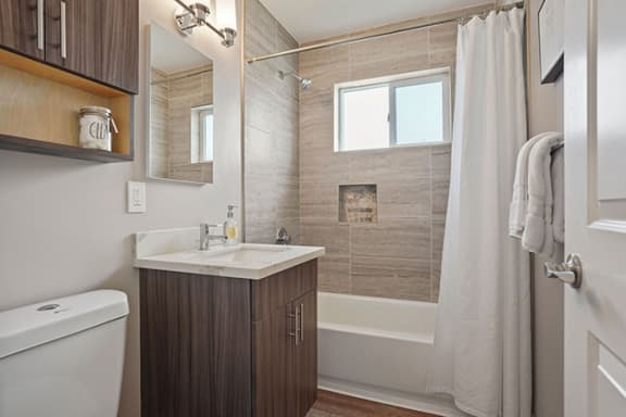 Bathroom Fitters at Parkside Apartments, Davis, CA