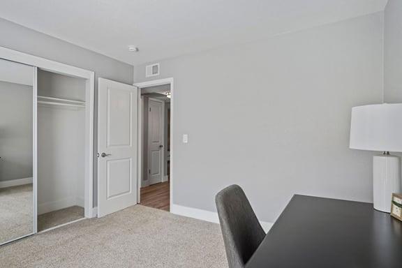 Workspace Area at Parkside Apartments, Davis, CA