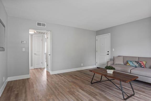 Spacious Living Room at Parkside Apartments, Davis