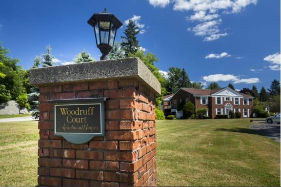 Taymil Woodruff Court Sign