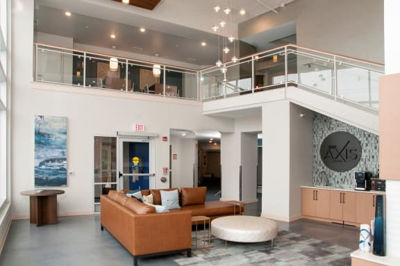 Modern Lobby at The Axis in Plymouth, MN 55441