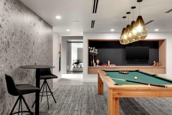 Billiards Table at Viridium, Minnesota