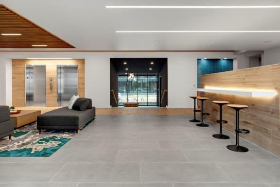 Decorated Reception And Lobby Area at Viridium, Minnesota